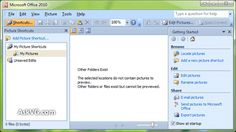 Microsoft Office Picture Manager in Office 2013