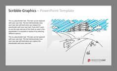 #Scribble #Graphics PowerPoint Templates Icons and #sketches, objects, templates for topics like business,  finance, organization, travel, motivation or team for PowerPoint.    #presentationload