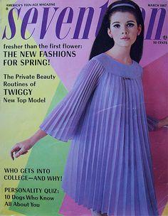 Image result for seventeen magazine 1967