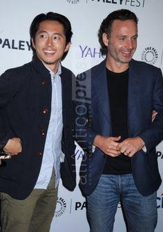 Steven Yuen & Andrew Lincoln