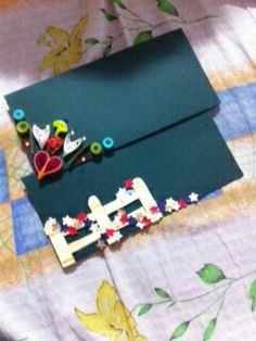 Creative quilled envelopes ...very cute and easy !!