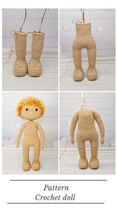 pattern pdf basic doll, crochet doll pattern, diy amigurumi doll - ❤️ my crochet dolls pattern - Etsy Crochet Doll Pattern, Crochet Patterns Amigurumi, Amigurumi Doll, Crochet Dolls, Crochet For Beginners, Embroidery Techniques, Stuffed Toys Patterns, Cute Dolls, Doll Patterns