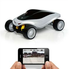 Spy Ghost Wireless Android iPhone iPad Control Car With Live Video - For Boys-2013 Xmas Gift Guide - TopBuy.com.au