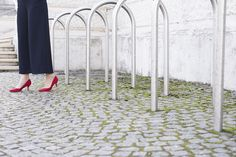 red heels Mode Blog, Red Heels, What I Wore, Kitten Heels, Shoes, Style, Fashion, Swag, Moda