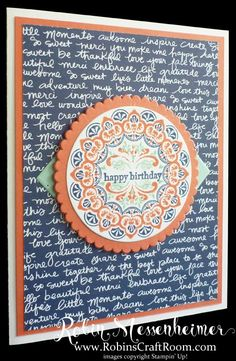 Fun Colors with Make a Medallion Stamp Set – #2