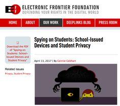 EFF: Google Chromebook is still spying on grade school students