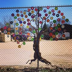 Public Art-Chain Link CD Project in conjunction with Studio 317 on Market St. in Rockford, IL