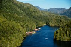 NIMMO BAY WILDERNESS RESORT, CANADA This waterside resort in British Columbia's Great Bear Rainforest is a pioneering eco-lodge. Here you can heli-hike, kayak, watch wildlife and take a sunset dinner cruise.