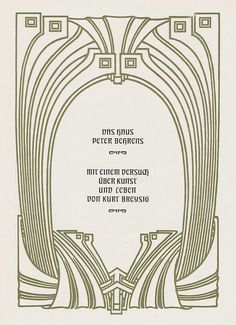 Peter Behrens Poster Peter behrens on pinterest