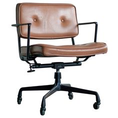 Rare Charles & Ray Eames for Herman Miller Intermediate Desk Chair   From a unique collection of antique and modern office chairs and desk chairs at http://www.1stdibs.com/furniture/seating/office-chairs-desk-chairs/