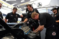 """Tony """"The Sarge"""" Schumacher & Team competing at the Route 66 Nationals in the T/F US. ARMY Dragster"""