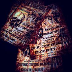 30th AUG. DEATHBLAST DISGUNDER NEPENTHES 兀突骨 DEATH HORN 8/30(sun) 新宿ANTIKNOCK WAR ENSEMBLE vol.7 moshout absolutely. #ROSEROSE #FUCKWARTOUR2015 #hardcore #politicianscriminalscampaign #skate #skaterock #squiggle #tokyo #japan #instagood #thrash #thrashmetal #grindcore #deathmetal #deathrash #nomusicnolife #mosh #mensfashion #crossover #ローズローズ  i'm #viviennewestwood & #anglomania & #worldsend wearer. #viviennewestwoodofficial #party