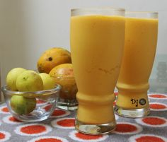 Tangy Mango Smoothie recipe