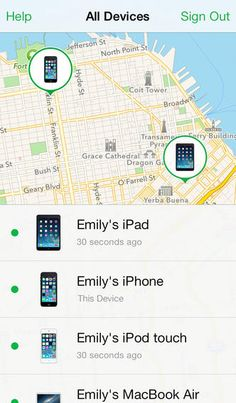 [Free] Find My iPhone at https://itunes.apple.com/us/app/find-my-iphone/id376101648?mt=8 See where your devices are, remotely make them play a sound to help you find them, or remotely lock or wipe your lost or stolen device.
