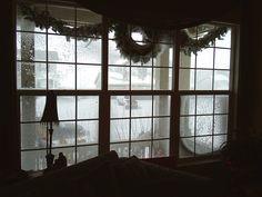 snowy window - Google Search