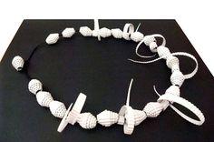 DIY- noxcreare: Paper Necklace...LA COLLANA DI CARTA