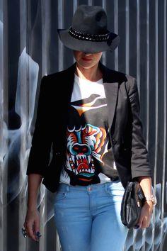 diesel t-jac t-shrt #ootd #style #diesel #falloutfit #hat