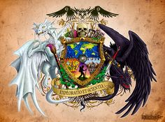 Fantastic Coat of Arms, Heraldry