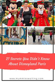 Whether you have been to Disneyland Paris once of fifty times, there is sure to be something you've missed. Disney puts extra magic into everything, so when you see those decorations on mainstream, they might… Disney Cruise, Disney Parks, Walt Disney, Disney Fun Facts, Disney Tips, Disneyland Secrets, Disneyland Paris, Disney Halloween, Disney Christmas