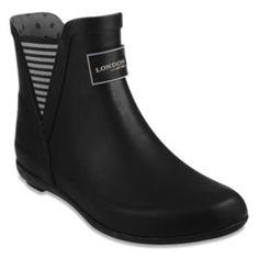 London+Fog+Piccadilly+Women's+Waterproof+Rain+Boots