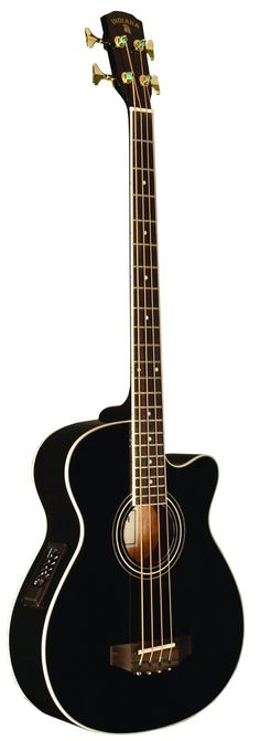 INDIANA Scout Bass SC-ABBK 4-Strings Acoustic Bass Guitar - Black. Spruce top mahogany back and sides. Rosewood fretboard and bridge nickel silver frets. Sealed diecast tuning machines. Gold Hardware. Free $35 value lesson! This instrument comes with a FREE 30 minute lesson, either in your own home, a TRMC studio or by skype video call (depending on your location) $35 value for FREE!!.