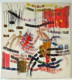 "Saatchi Online Artist Marthe Isaac; Painting, ""Untitled 48"" #art"