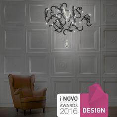 Lustre design original / en porcelaine / à LED / fait main WERSAILLES CARBONE  Beau&Bien