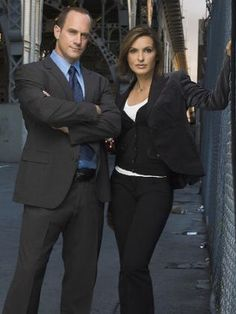 Nice! Detectives Elliot Stabler and Olivia Benson from Law and Order: SVU