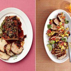 Pork loin and pork tenderloin sound like the same thing, but they're two very different cuts. Learn the difference here. Pork Tenderloin Sides, Pork Tenderloin Marinade, Pork Tenderloin Recipes, Beef Steaks, Pork Roast, Pork Chops, Pork Ham, Grilled Pork, Easy Pork Loin Recipes