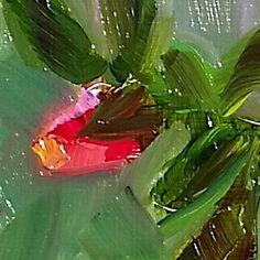 www.artbyildy.com - Ildy Karsay oil on board  - detail