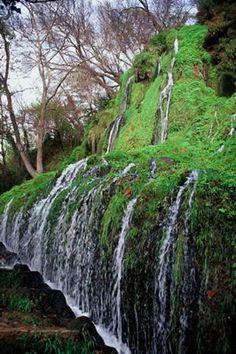 Cascada de los Fresnos en el Monasterio de Piedra