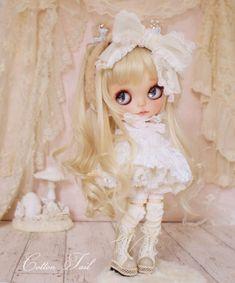 ◆CottonTail ×ichigonokokoro15さま◆  Sugar Baby 砂糖菓子みたいなロリータちゃん カスタムブライス  _画像1