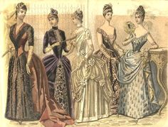The Horrifying Legacy of the Victorian Tapeworm Diet - Atlas Obscura - - A beauty fad that continues to haunt us. Victorian Era Fashion, 1880s Fashion, Victorian Women, Vintage Fashion, Medieval Fashion, Gothic Fashion, 19th Century Fashion, 18th Century, Album Photo