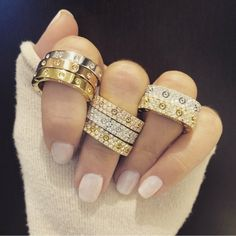 Roberto Coin rings