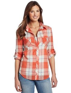 Coral Button Up Shirt Womens | Is Shirt
