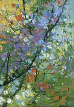 Springtide I  by Kim Coulter prints for sale. Springtide I  canvas, acrylic, custom frame prints. Orientation: vertical . Color tones: