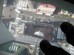 Auckland SkyTower glass floor