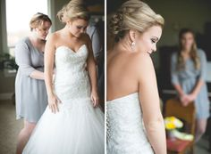 Bride Getting Ready || PHOTO SOURCE • SIMPLY SWEET PHOTOGRAPHY BY NOMO AKISAWA