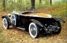 Rolls Royce Boattail Silver Ghost, 1924. - Now that's funky!