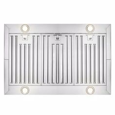 AKDY 36 in. Convertible Kitchen Island Mount Range Hood in Stainless Steel with Touch Control and Carbon Filter-RH0260 - The Home Depot Kitchen Tops, Kitchen Island, Electronic Recycling, Recycling Programs, Carbon Filter, Brushed Stainless Steel, Wall Oven, Convertible, Microwave
