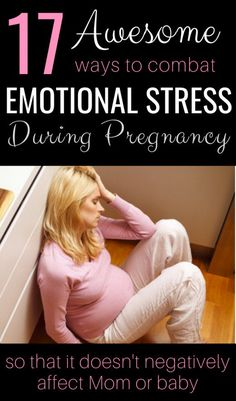 Emotional Stress in Pregnancy can have Negative Effects for Mom and Baby. make sure you avoid that by Making Some Simple Changes to Your Lifestyle! Use some of these 17 tips to help you keep stress under control! Stress And Pregnancy, All About Pregnancy, Pregnancy Tips, Pregnancy Hormones, Pregnancy Nutrition, Pregnancy Pillow, Pregnancy Style, Pregnancy Health, Pregnancy