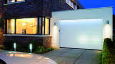 Light up your garage with LED light strips from Hormann! Garage Door Lights, Garage Stairs, Sectional Garage Doors, Entry Stairs, Driveway Light Post, Driveway Lighting, Winterthur, Garage Exterior, Led Light Strips