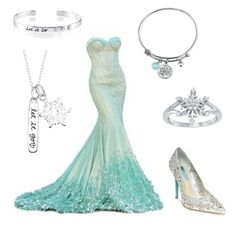 """""""Let It Go"""" by pjcamg07 ❤ liked on Polyvore featuring Disney and Betsey Johnson"""