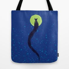 kuyruklu Tote Bag by creaziz - $22.00