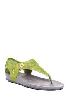 Serena Leather Sandal by Ahnu on @nordstrom_rack