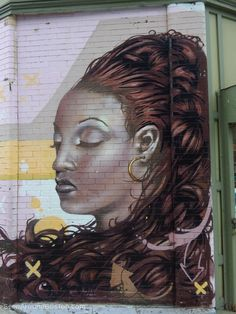 lady portrait mural, jamaica plain boston ~ Join the Seen Around Boston Facebook group; post your own pics or enjoy our pics in your Facebook feed: https://www.facebook.com/groups/seenaroundboston/