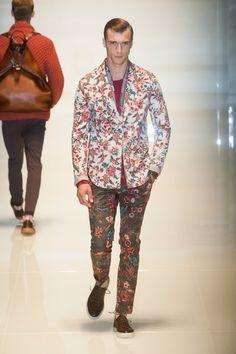 Défilé Gucci Homme Printemps-été 2014 Milan
