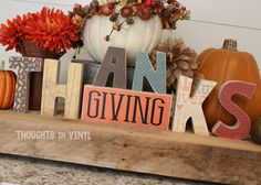 Vinyl Letters | Wooden Letters | Super Saturday Crafts