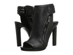 Nine West Tiiptoe Black Leather - 6pm.com