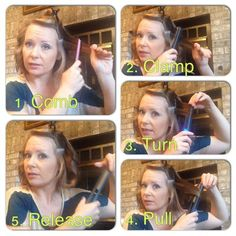 How to Curl with a Flat Iron